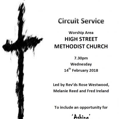 Ash Wednesday Circuit Service 14 Feb 18