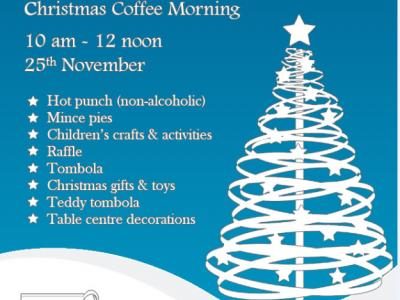Bampton Xmas coffee morning