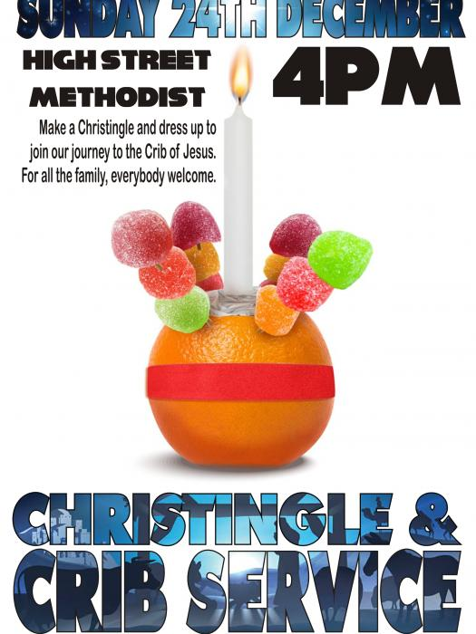 Christingle & Crib Service at High St, Witney