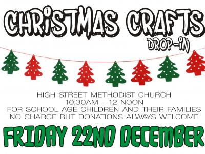 Christmas Crafts at High St MC, Witney