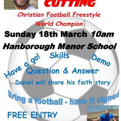 Daniel Cutting poster for Long Hanborough