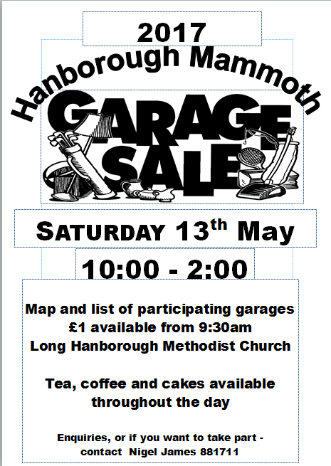 Hanborough Mammoth Garage Sale