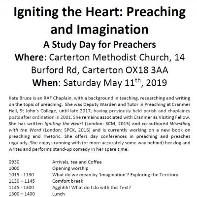 Igniting the heart - Study day for preachers