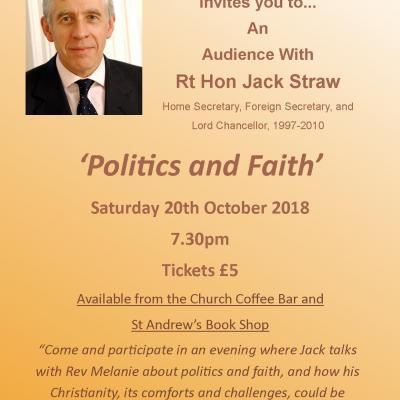 Jack Straw Poster