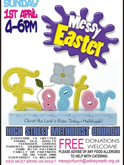 Messy Church Easter 2018