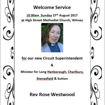 Rose Westwood welcome service (2)